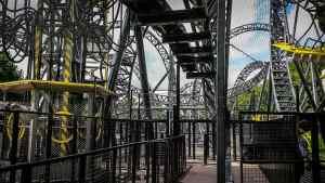 rollercoaster safety net