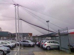 protective overhead net