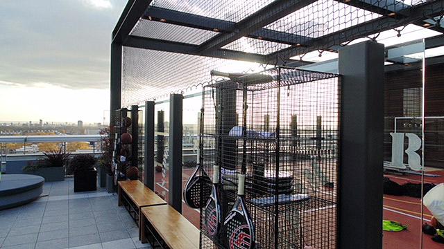 rooftop sports net
