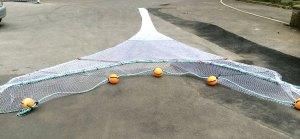 Sand eel trawl net