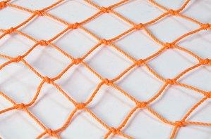 Trawl netting: 10/39 orange 80mm inside