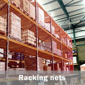 warehouse racking nets