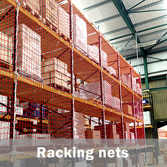 warehouse racking nets