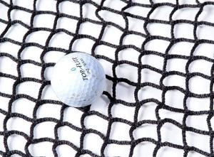 Golf Netting 20mm x 2.3mm Black