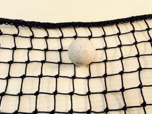 Golf Netting 25mm x 1.8mm Black Polyethylene