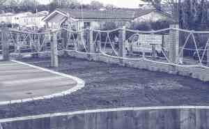 decorative rope handrails