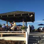 Beach Club Gazebo Bar Deck