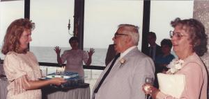 Wedding pic Dad's cake