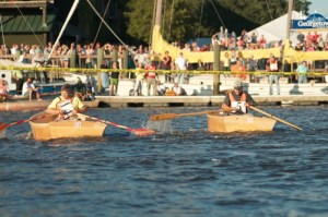 Wooden Boat Show Rowing