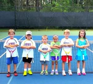 DeBordieu Tennis little kids