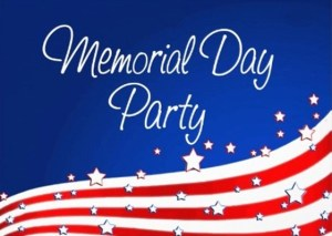 mem day party logo
