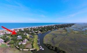 Lot 6, Marsh Creek Landing,  Dock on Main Channel, Marsh View,  NOW $899,000