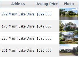 Marsh Lake Villa snapshot