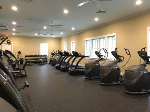 fitness Center workout room