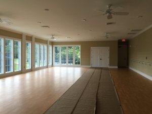 fitness center aerobic room