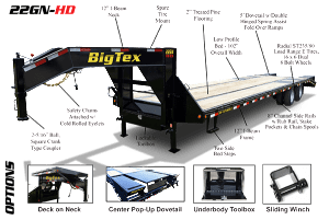 Coastal Trailer Sales | Bay City Texas | Big Tex