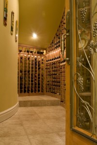 wine cellar lighting