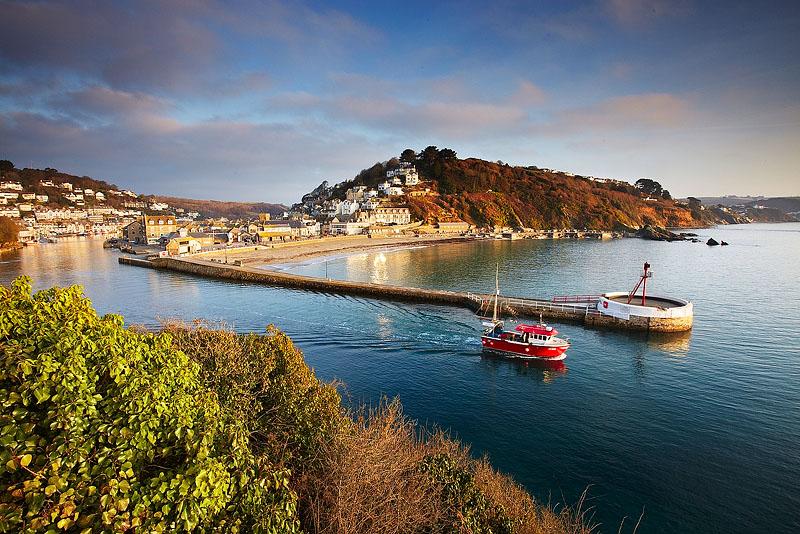 Looe Cornwall England