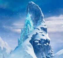 Frozen Walt Disney World Castle
