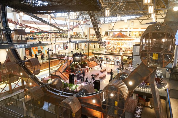 Revamped Ga Parc Quebec City Mall Reopens - Coaster101