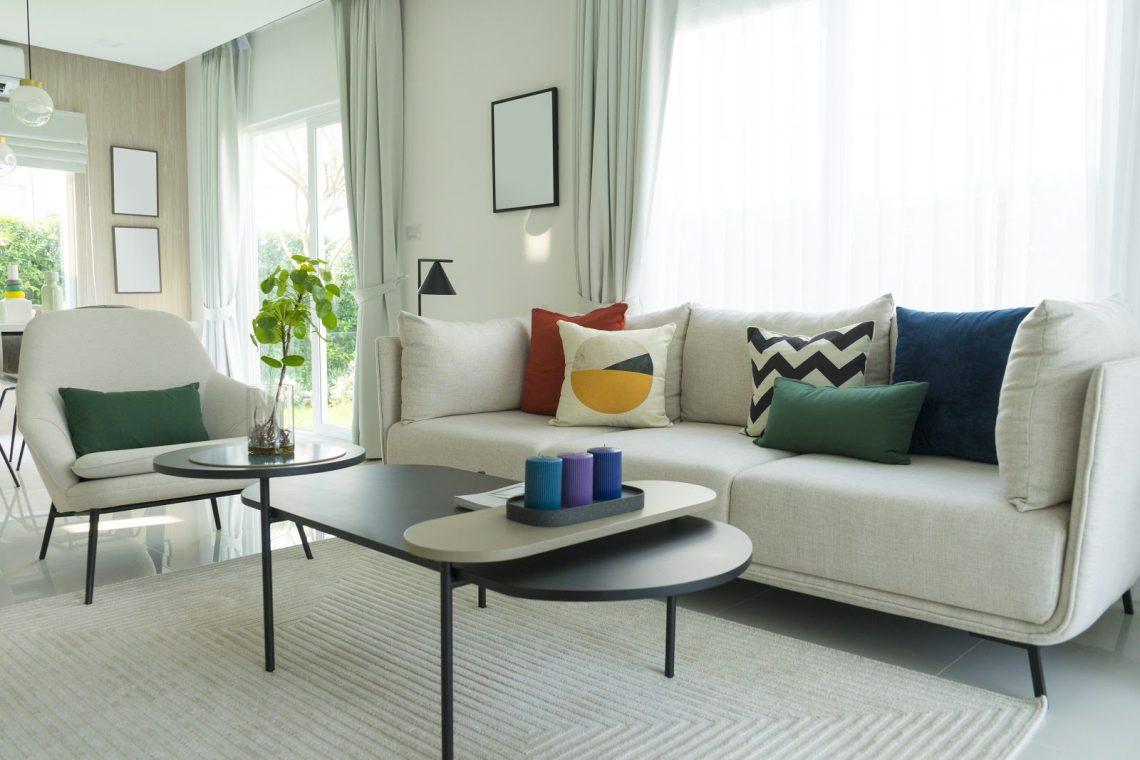 Mid Century Modern Living Room Decor On A Budget Coaster F