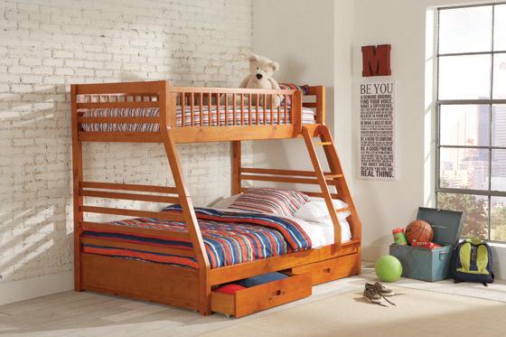 bunk loft beds coaster fine furniture