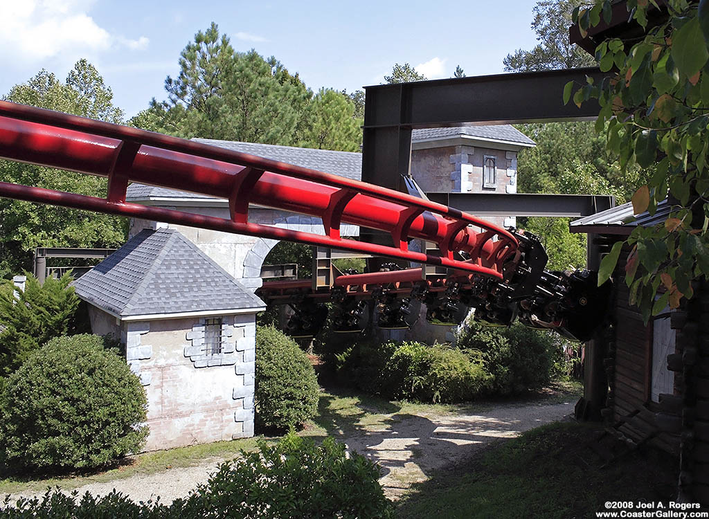 Roller Coaster Of The Day Big Bad Wolf Busch Gardens Williamsburg Life The Universe And