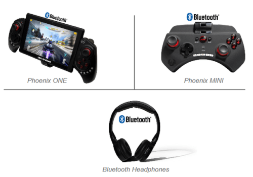 Gaming and listening for your headrest tablets made easier!