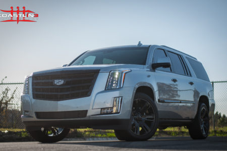 Cadillac Escalade w/ Stage 4 Coastline Blackout