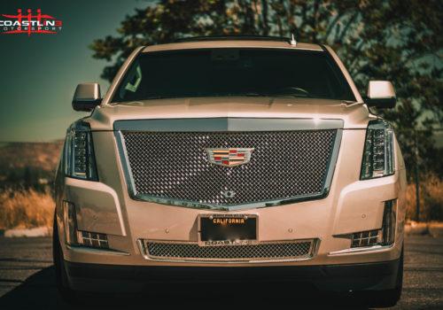 Cadillac Escalade w/ Custom Chrome Front Grilles
