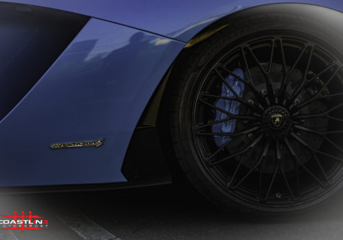Lamborghini Aventador S w/ Custom Paint Matched Caliper Paint Service