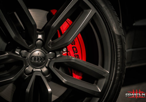 Audi SQ5 w/ Custom Red Caliper Paint Service