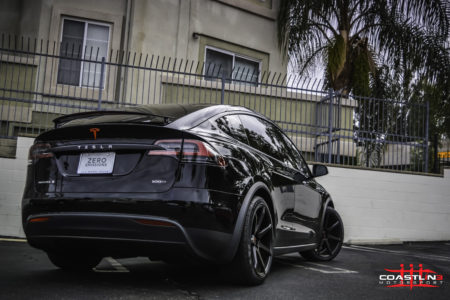Tesla Model X w/ Stage 4 Coastline Blackout