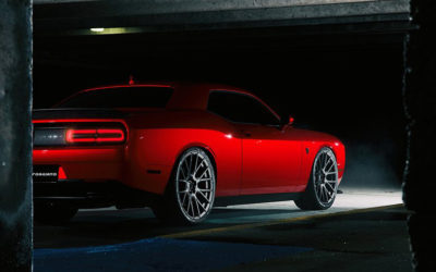Dodge with Forgiato Flow 001 Wheels