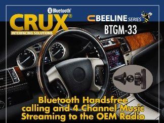 Bluetooth Streaming Crux Interfacing