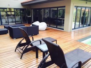 Decking Durban Zimbali pool