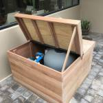 waterproof pool pump housing
