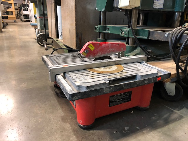 husky thd750l 7 inch wet tile stone saw