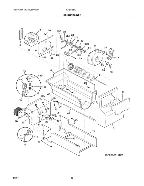 DRYER MOTOR WIRING DIAGRAM 115V X603 - Auto Electrical ... on