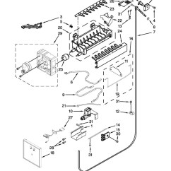 Ice Maker Diagram Jeep Wrangler Fuse Box Maytag Js42nxfxdw05 Parts List Coast Appliance Zoom In Out Full