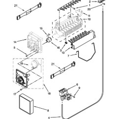 Ice Maker Diagram 4 Way Switch Wiring Leviton Whirlpool Wrs322fdaw02 Parts List Coast Appliance 13 Back To Common