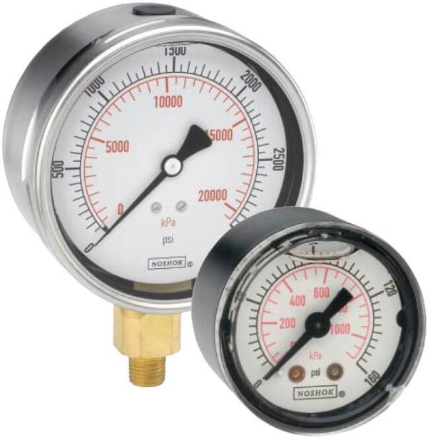 pressure-gauge-noshok-dial-indicating-900-series