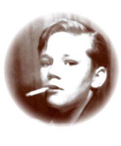 Thomas Sheffield as a child.