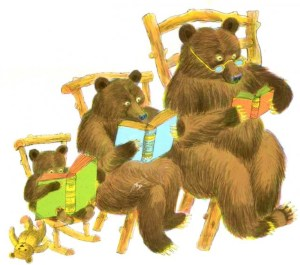 Bedtime Stories ~ The Three Bears by Paul Galdone