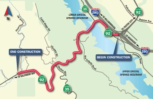 HWY 92 Paving Project ~ Traffic Control 9pm -5am @ Highway 92 | California | United States