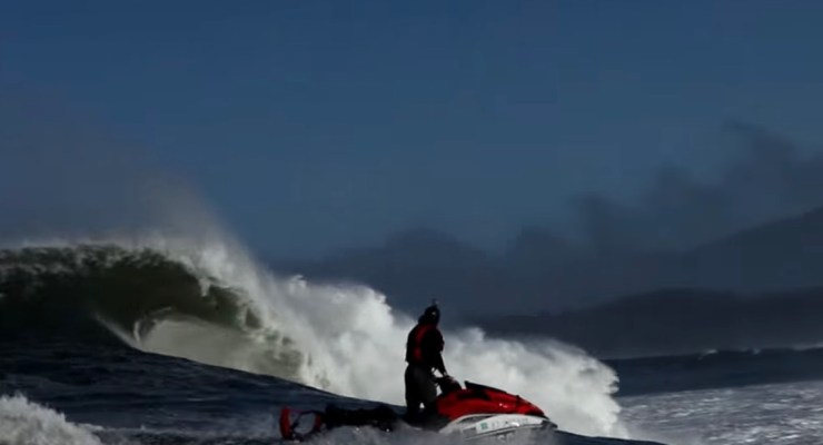 Big Wave Risk Assessment Group (BWRAG) Trains Mavericks Surfers