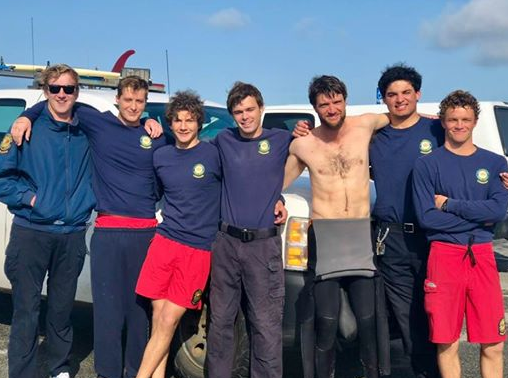 HMB California State Park Lifeguards Race to Tryout