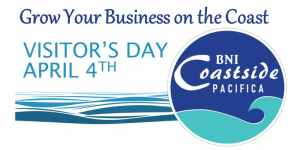 BNI Coastside Visitor's Day ~ Great Incubator for New Businesses @ Grape in the Fog | Pacifica | California | United States
