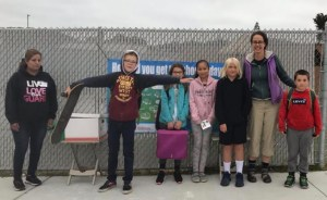 Walk and Roll at Hatch Elementary During Bike to Work Week