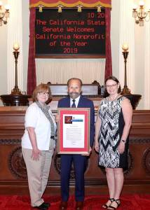 Senior Coastsiders Celebrated as the Nonprofit of the Year for the 13th Senate District